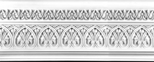 Plaster Cornices (Decorative): LR362