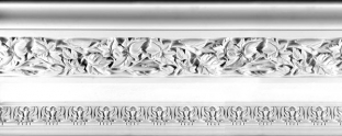 Plaster Cornices (Decorative): LR361