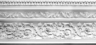 Plaster Cornices (Decorative): LR363