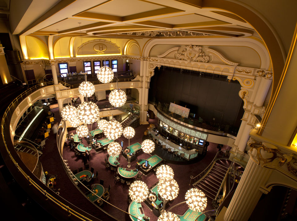 Hippodrome Casino Renovation